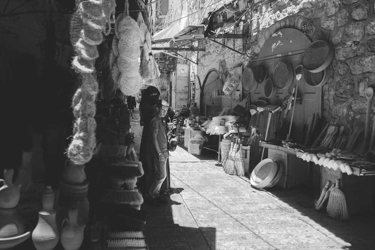 Hebron Shopping Area