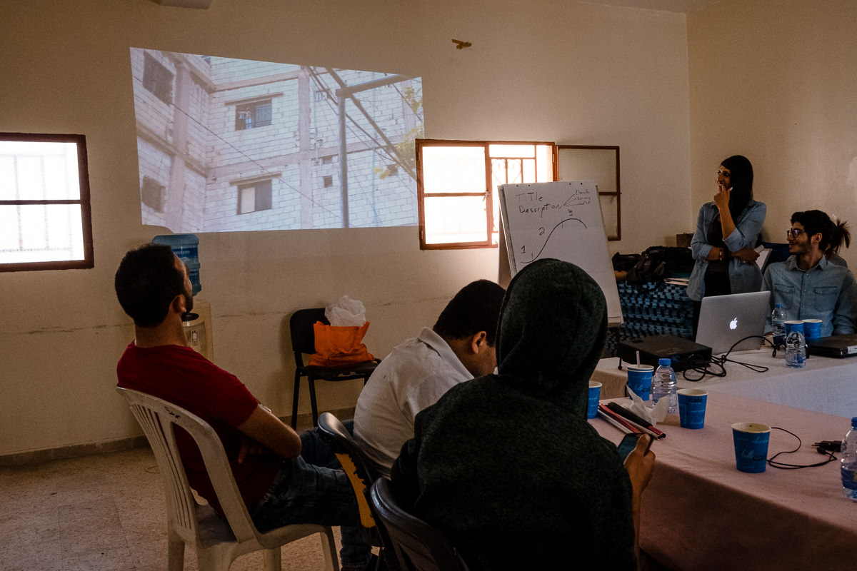 Shatila Camp Workshop
