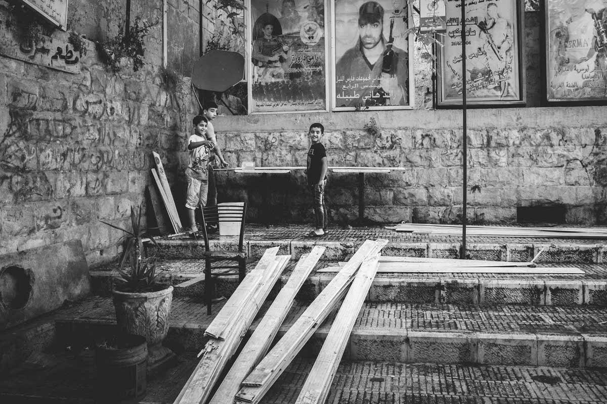 Palestinian Boys Nablus